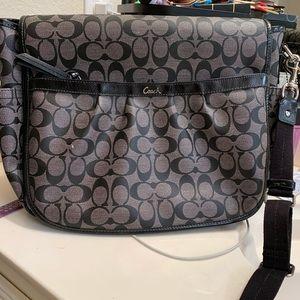 Coach messenger bag, like new!